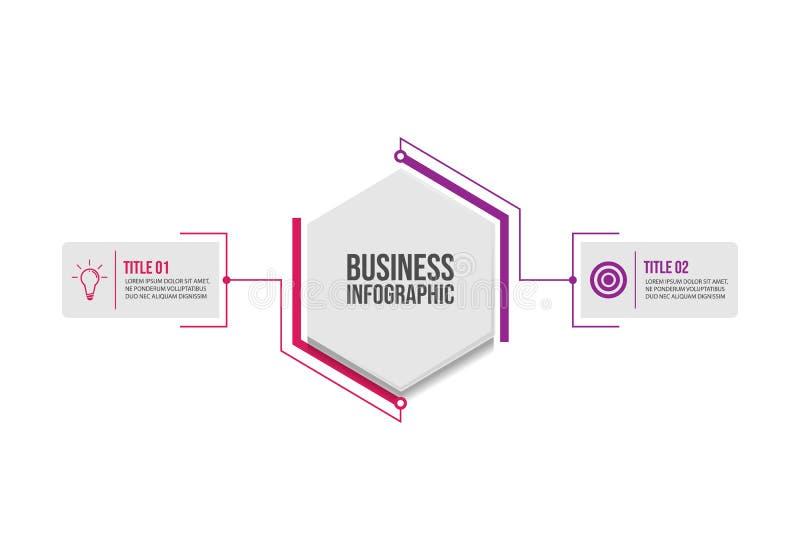 企业数据形象化infographic设计模板传染媒介 皇族释放例证