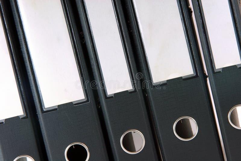 企业文件夹 免版税图库摄影