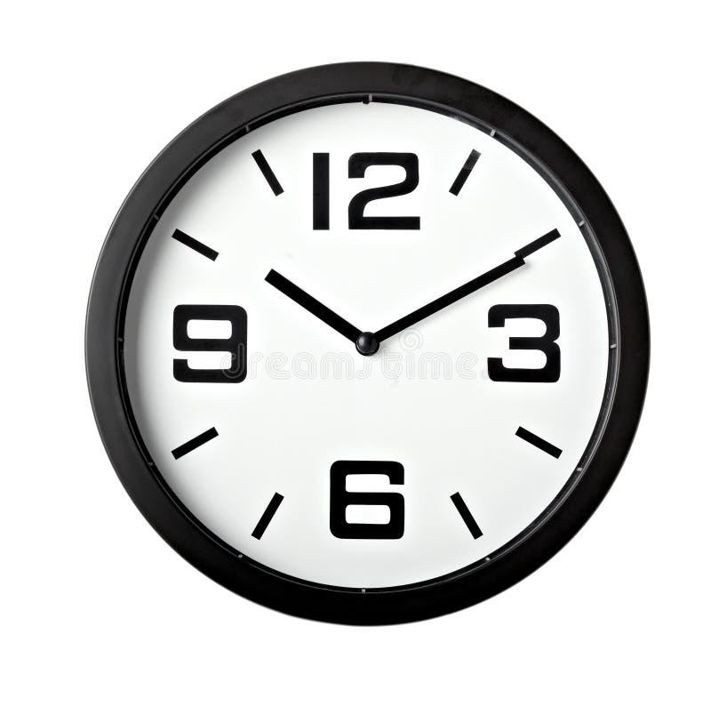 企业时钟办公室时间 免版税库存照片