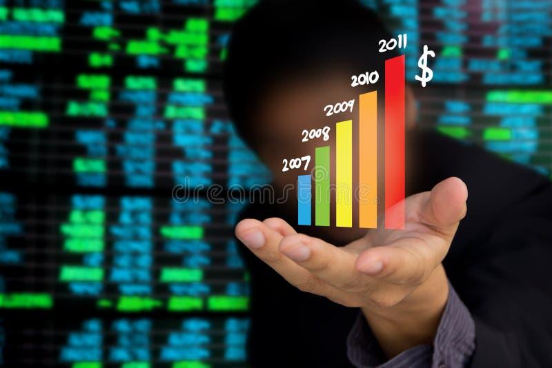 企业替换股票 图库摄影