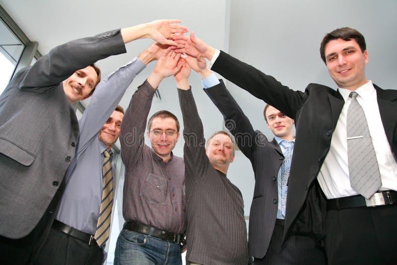 企业朋友 库存图片