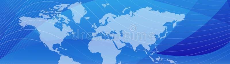 企业标头旅行万维网 向量例证