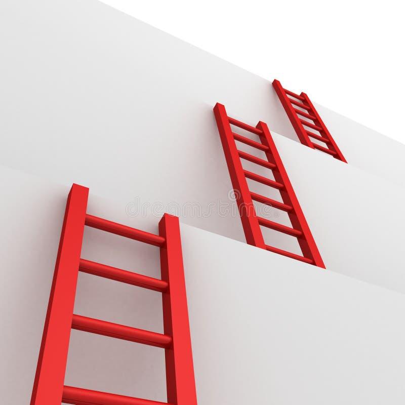 Download 企业梯子成功配合 库存例证. 插画 包括有 无限, 户外, 事故, 移动, 机会, 云彩, 竞争, 上升 - 22350813
