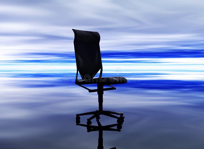 企业椅子 库存例证