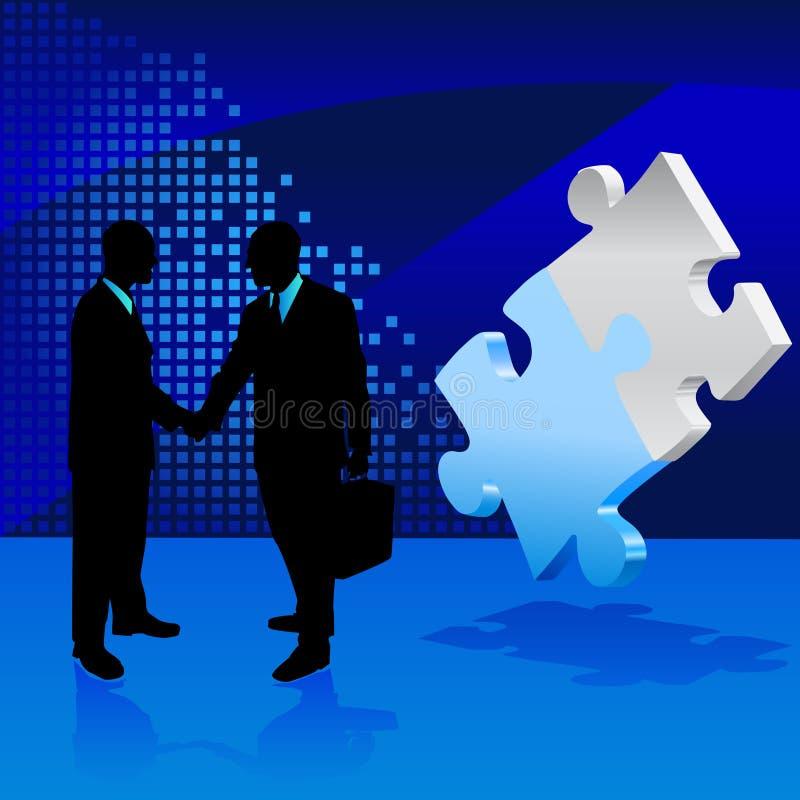 企业概念向量 向量例证