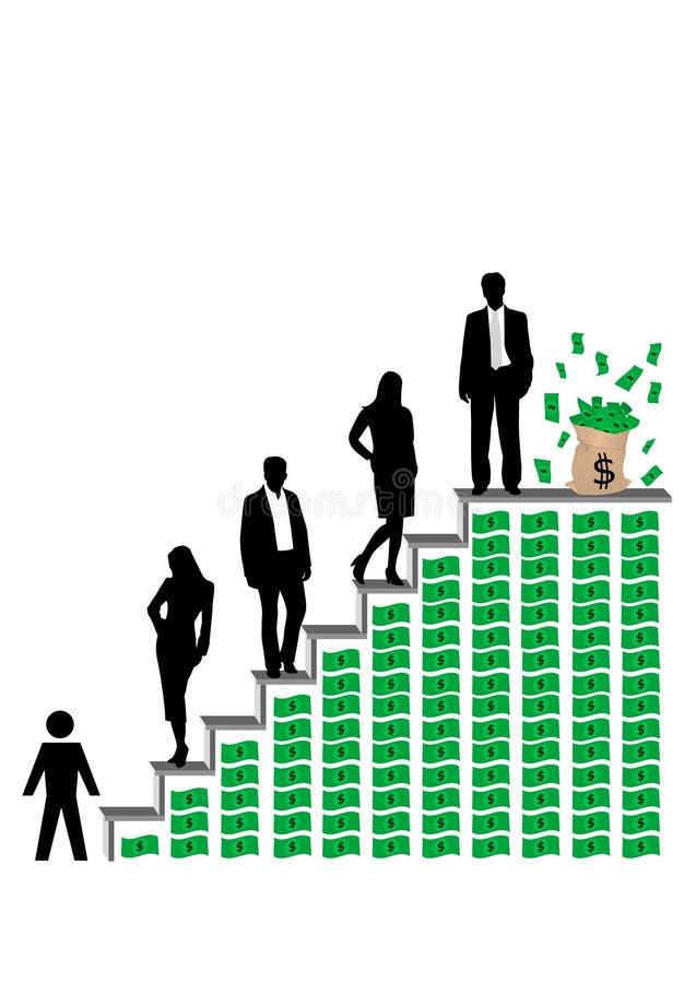 企业概念性例证 向量例证