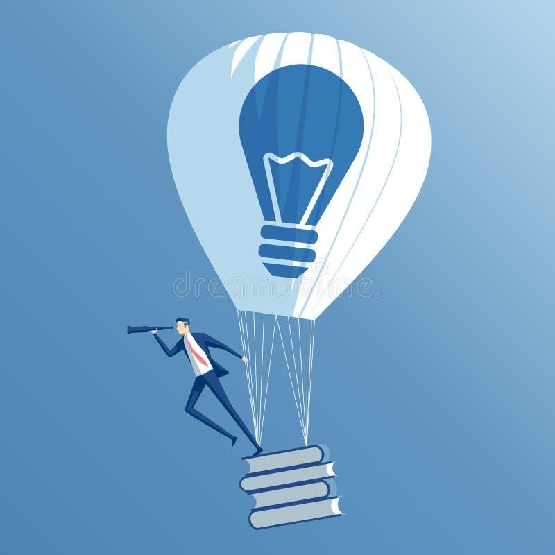 企业概念想法和教育 库存例证