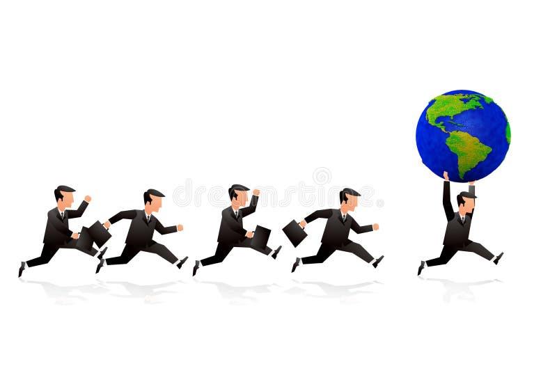 企业概念 向量例证