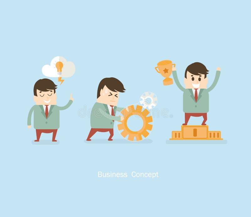 8企业概念eps向量 库存例证