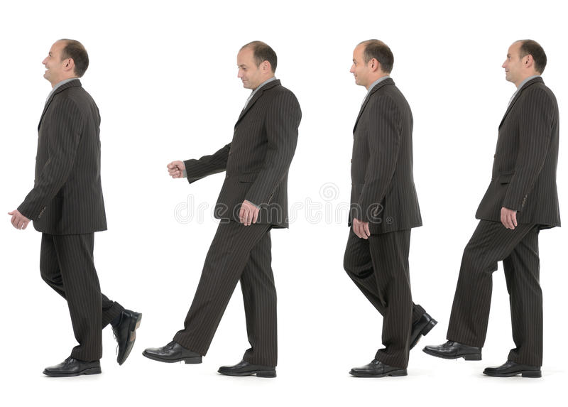 企业步骤 免版税库存照片