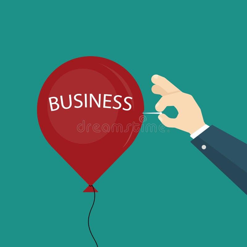 企业气球流行音乐 皇族释放例证
