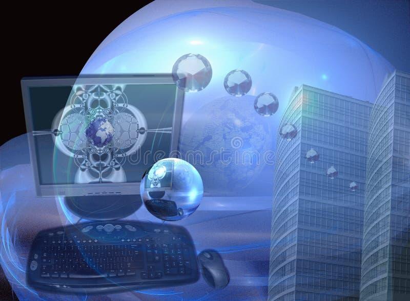 企业清楚的水晶成功 库存图片