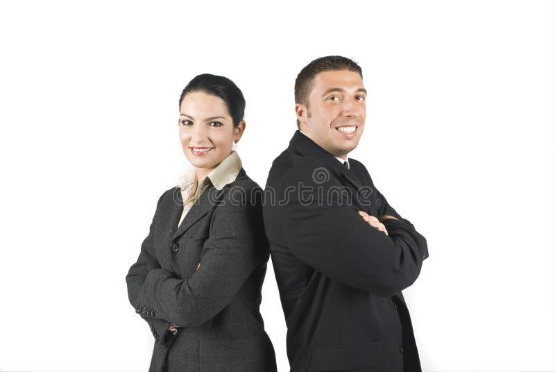 企业热心者人二 库存图片