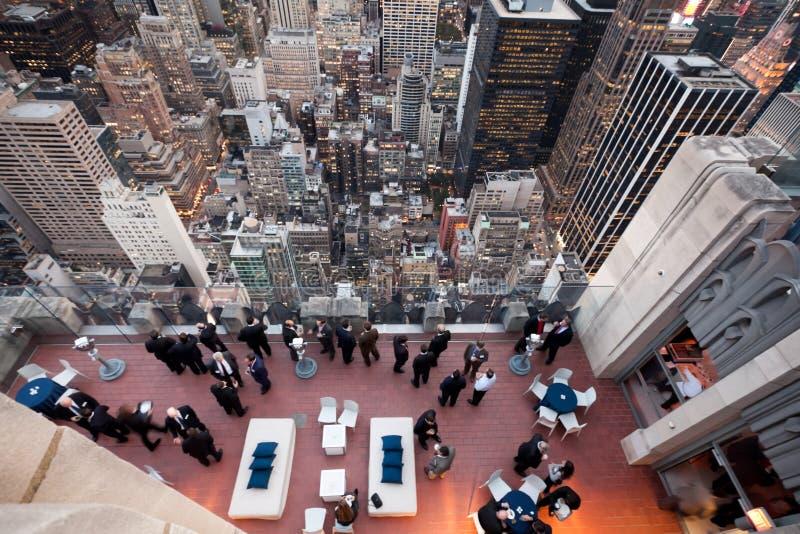 企业生命力屋顶顶层 免版税库存图片