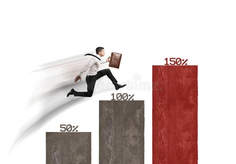 企业生长 向量例证