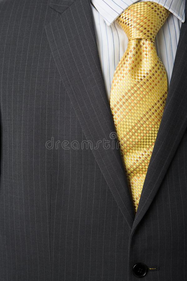 企业男式衬衫关系 库存照片