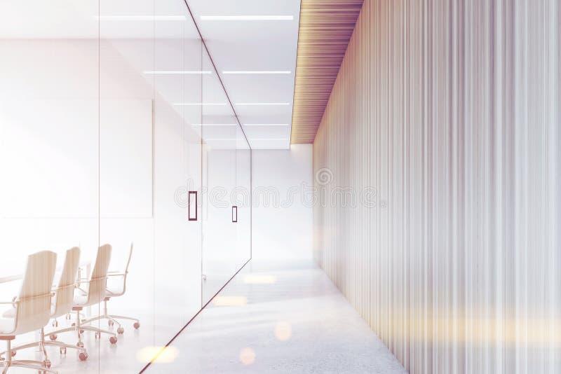 企业的走廊,被定调子 皇族释放例证