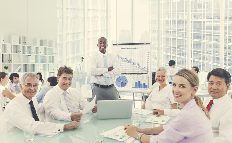企业研讨会会议会议合作概念 库存图片