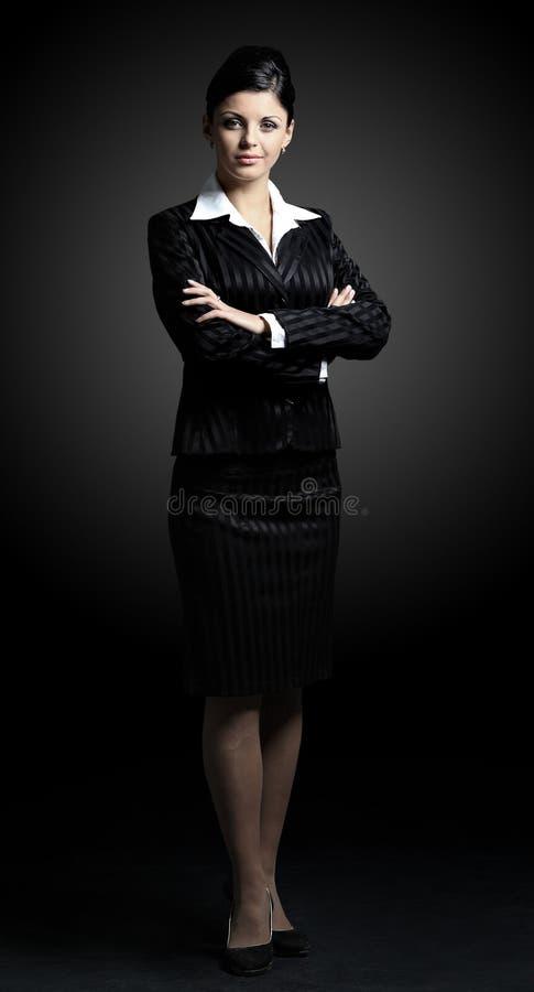 企业确信的妇女 库存图片
