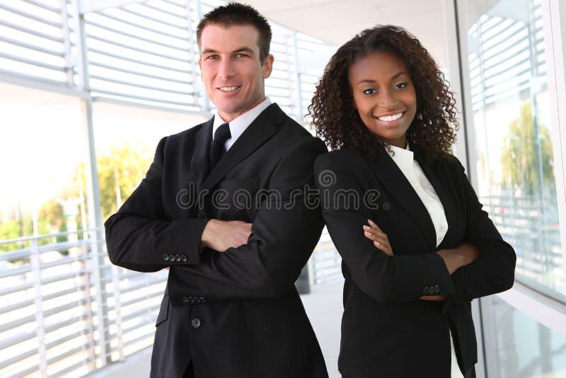 企业种族小组 库存照片