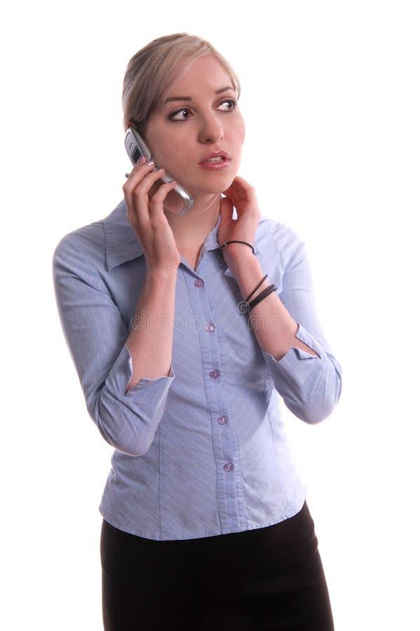 企业移动电话 库存照片