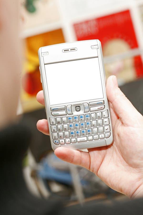 企业移动电话 免版税库存照片