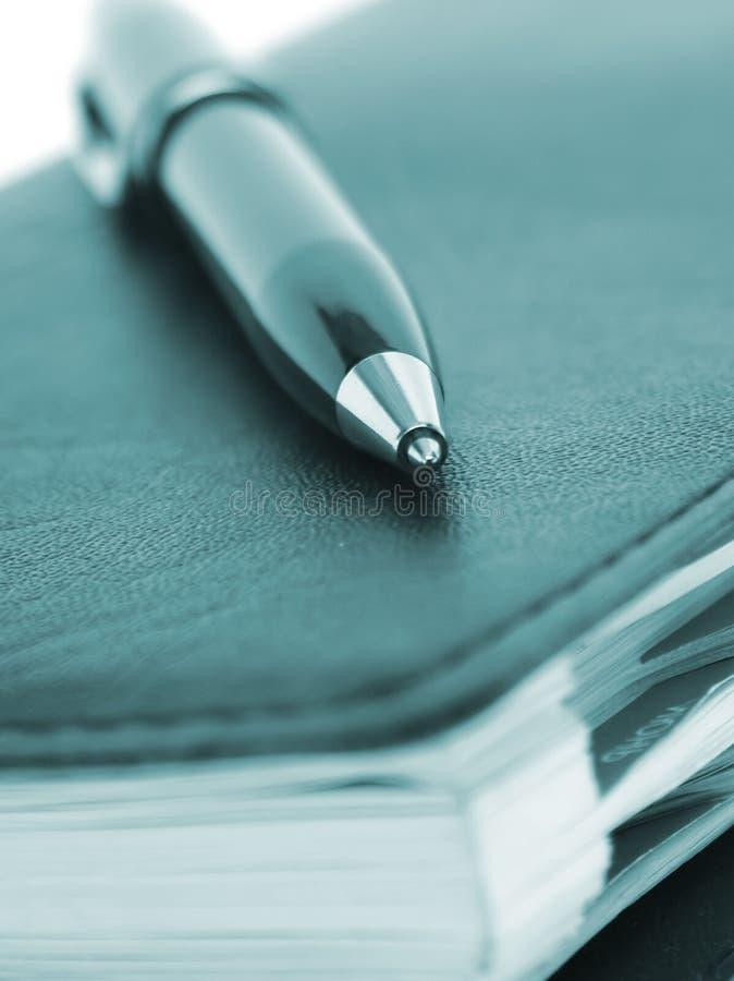 企业笔记本 库存照片