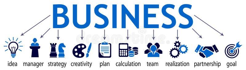 企业组分-储蓄传染媒介 向量例证