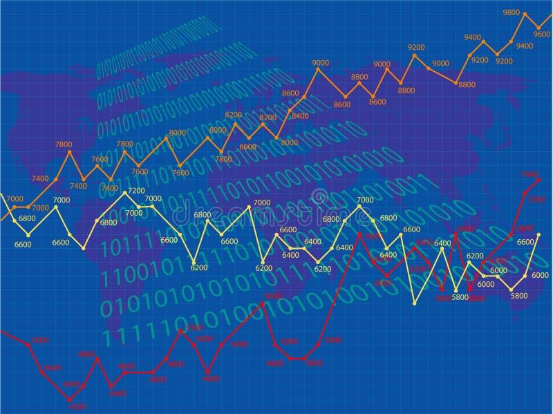 企业绘制 向量例证