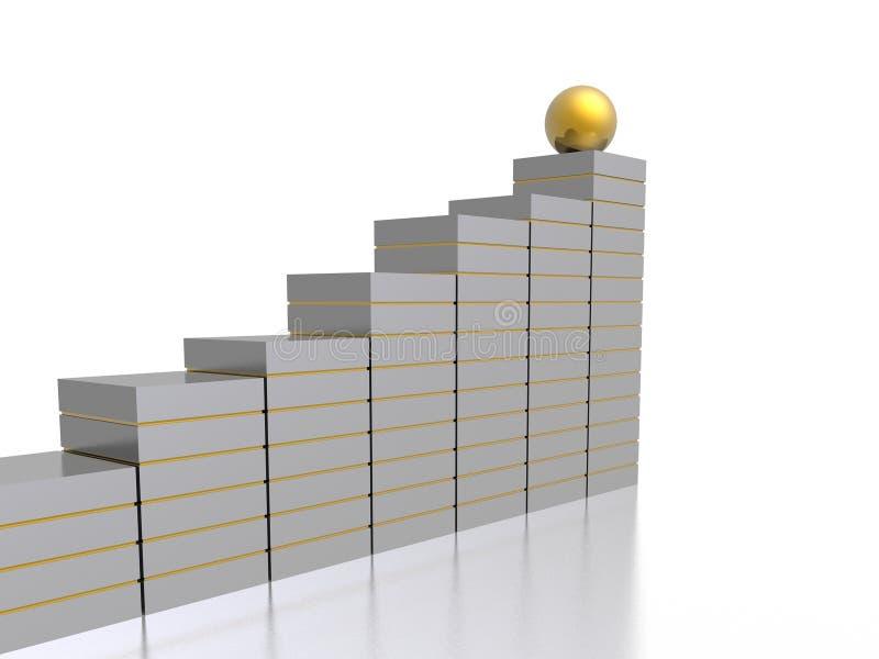 企业绘制 库存例证