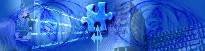企业缺少部分技术 免版税库存照片