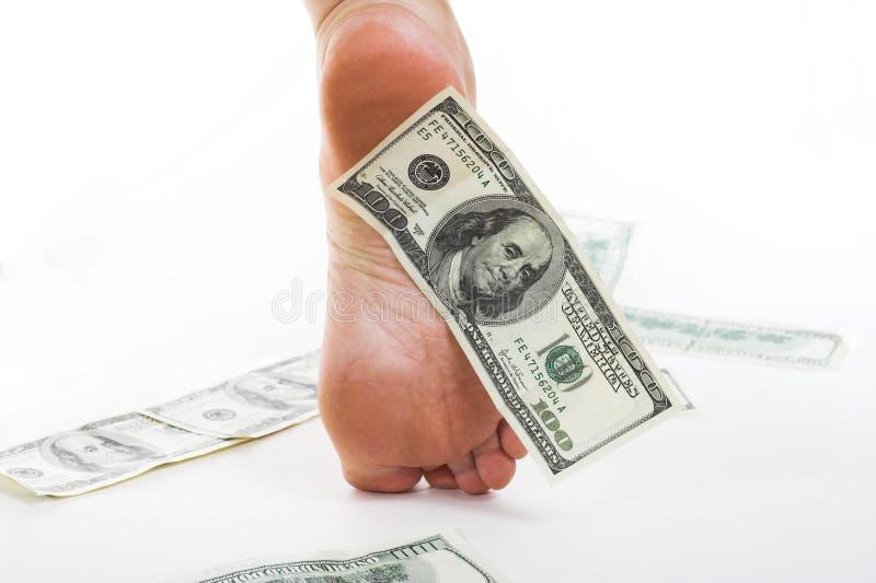 企业美元经济 免版税库存图片