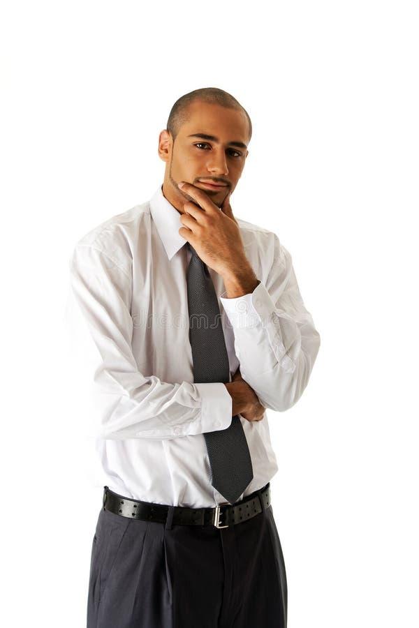 企业英俊的人身分 库存照片