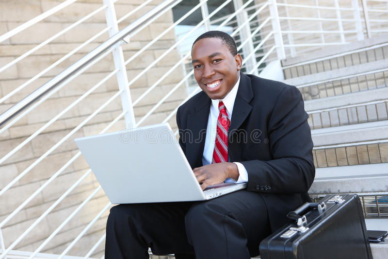 企业英俊的人 免版税图库摄影