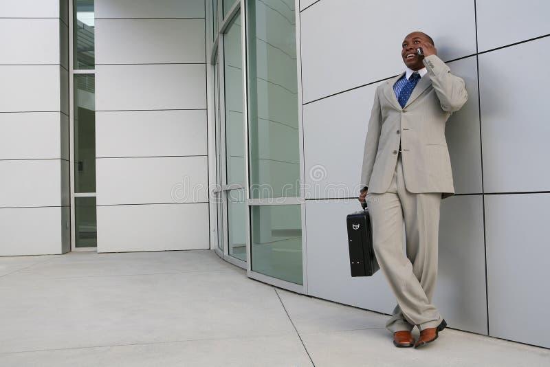 企业英俊的人 免版税库存照片
