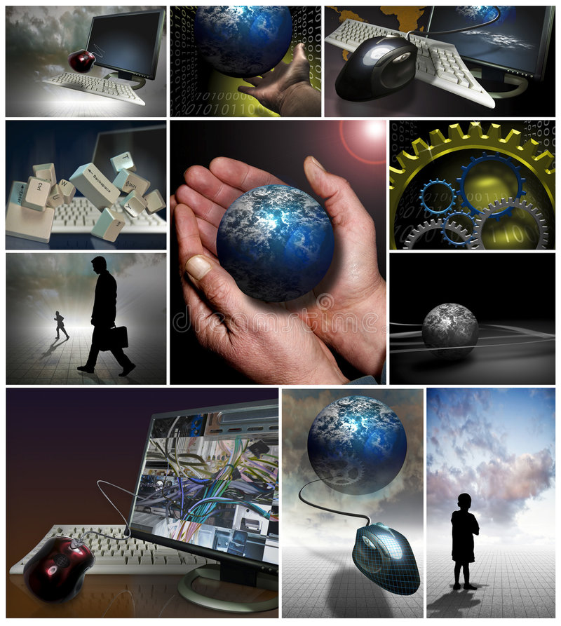 企业营销工具 库存照片