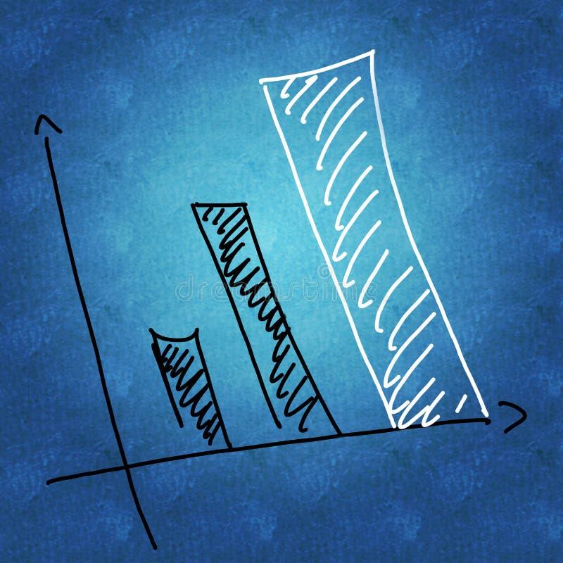 企业规划和增长 库存例证