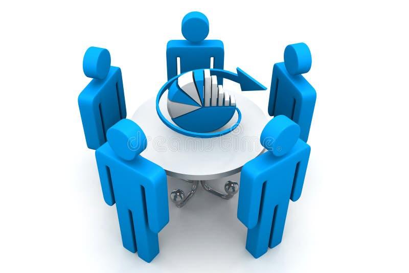 企业规划概念 库存例证