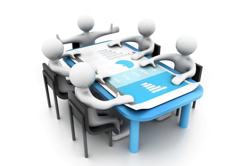 企业规划 向量例证