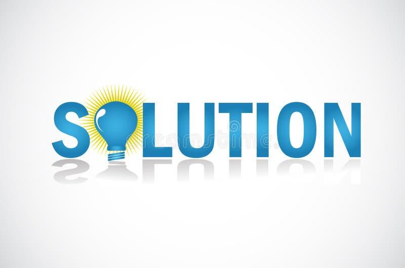 企业解决方法 向量例证