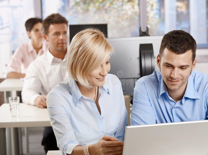 企业训练 免版税库存照片
