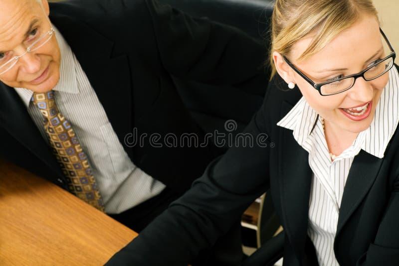 企业论述人 免版税库存图片