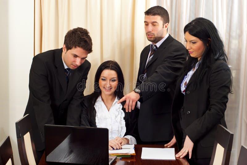 企业论述人 库存图片