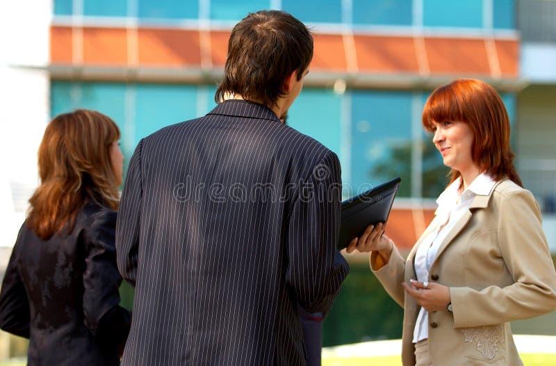企业论述 免版税库存照片