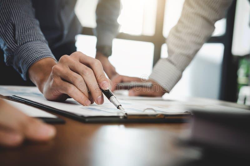 企业财务会计银行业务概念,企业队doi 免版税库存照片