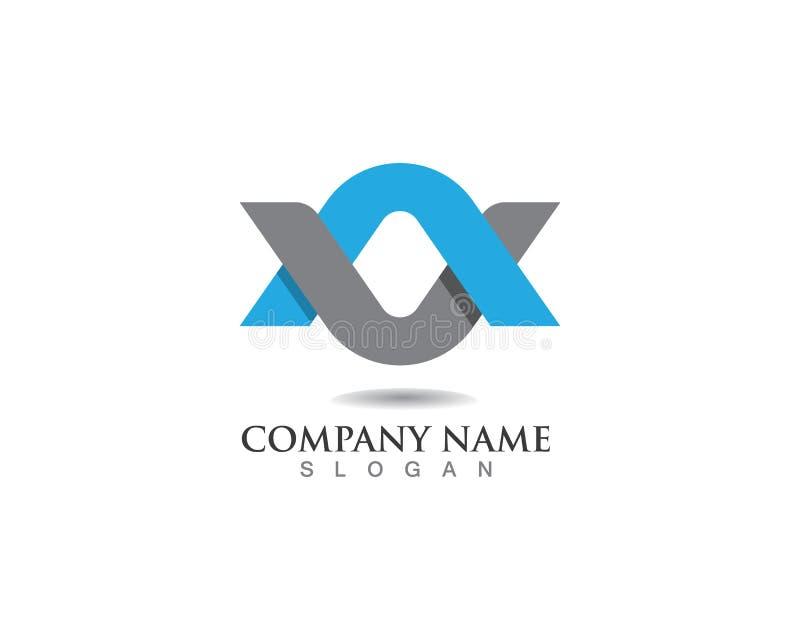 企业财务商标和标志导航概念例证 皇族释放例证