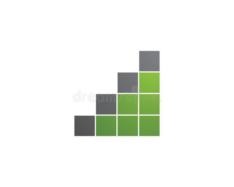 企业财务商标 向量例证