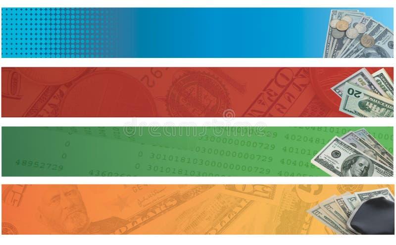 企业货币 库存例证
