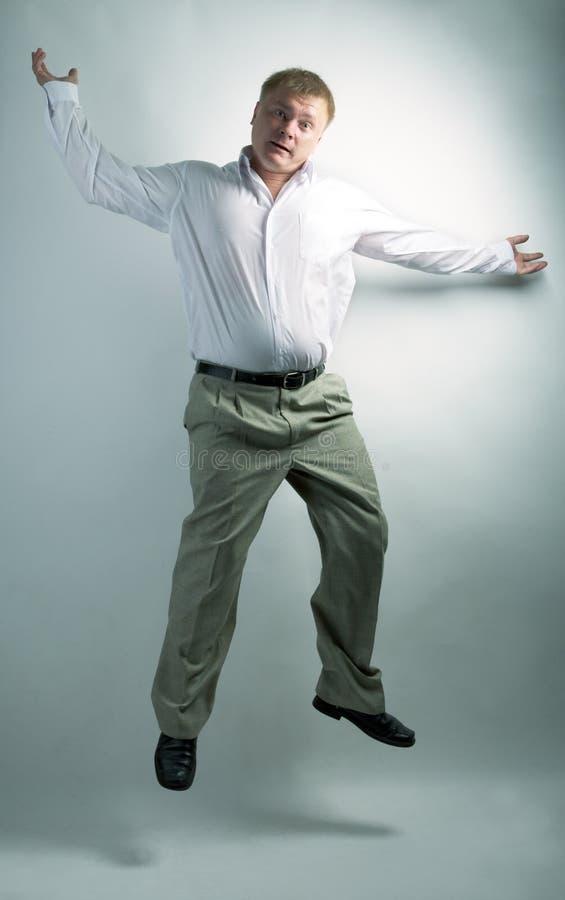企业跳舞人 免版税库存照片