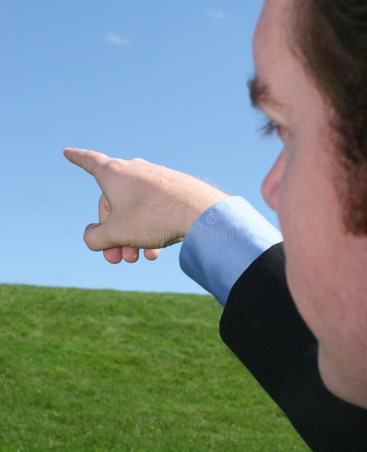 企业远见 免版税库存照片